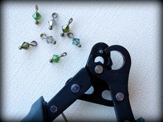 It takes just minutes to make dozens of crystal dangles with the 1-Step Looper pliers.