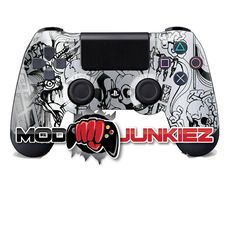 Hydro Dipped Silver Kooky Skulls PS4 Dual Shock 4 Controller