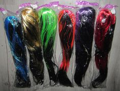 Economy Costume FLASHING LED GOTH WIG -- Awesome products selected by Anna Churchill