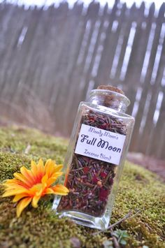 Full Moon Incense Herb Potion For Casting and Esbat by MoodyMoons, $7.99