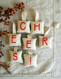 cross-stitch ornaments #flatlay #flatlays #flatlayapp www.flat-lay.com