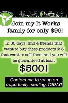 Where can you start #Your #OwnBusiness for #Only $99.00? Im looking for #Driven #Motivated People to join my #Team!! https://trueyou.myitworks.com/  https://www.facebook.com/racquel.itworks?ref=tn_tnmn