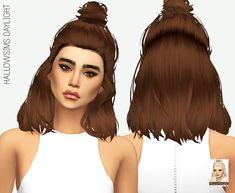 Miss Paraply: Hallow`s Daylight hair retextured - Sims 4 Hairs - http://sims4hairs.com/miss-paraply-hallows-daylight-hair-retextured/