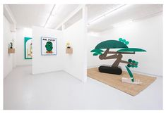 Juxtapoz Magazine - Celebrating Psychedelic and Pop Art in Album Covers Sculpture Stand, Tree Sculpture, Lisson Gallery, Linen Curtains, Bonsai, Album Covers, Psychedelic, Pop Art, Furniture