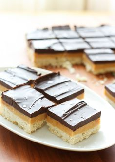 Millionaire Bars {traditional and gluten free recipes}
