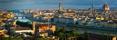 Florence Panorama - Photography by Inge Johnsson