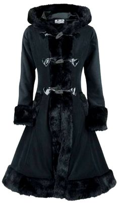 Poizen Industries - Minx Coat - Black [MINXcoat_black] - $148.97 :