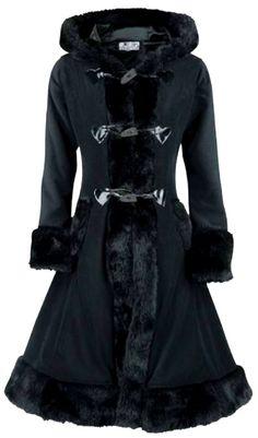Poizen Industries - Minx Coat - Black [MINXcoat_black] - $148.97 :