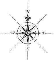 Resultado de imagen para arrow compass tattoo