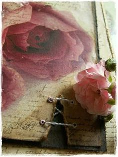 Roses and a vintage-nostalgic atmosphere ~