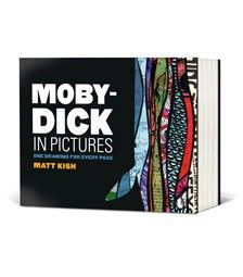 One illustration for every page of Moby-Dick. By Matt Kish. Coming out this fall.