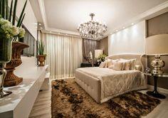 12 Quartos de Casal com decoração clássica e contemporânea maravilhosos! Veja dicas! - Decor Salteado - Blog de Decoração e Arquitetura