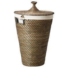 ÅSUNDEN Seagrass Laundry basket - IKEA
