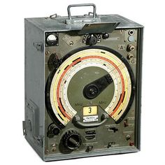 German WWII Radio Monitoring Receiver, 1939 Type Fu.H.E.c.
