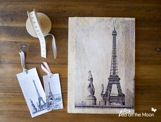 Transferir una fotografía a madera o lienzo: una forma diferente de revelar nuestras fotografías Fun Crafts, Diy And Crafts, Arts And Crafts, Foto Transfer, Photo Craft, Repurposed Furniture, String Art, Scrapbook Cards, Scrapbooking