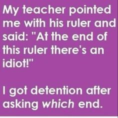 haha I would so do this to mr.mecsey!