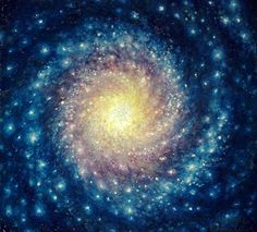 amazing painting of a galaxy