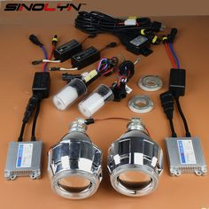 89.99$  Watch here - http://aliceb.worldwells.pw/go.php?t=1820734914 - Car/ Motorcycle Styling 2.5 inches HID Bi xenon Lens Headlight Projector Kit With Angel Eyes Halo Headlamp Lenses Complete Kit