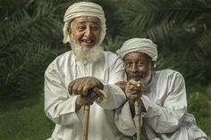 Beautiful smile from Oman