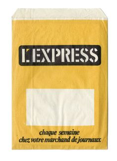L'Express  – we'd really love to design some paper bags