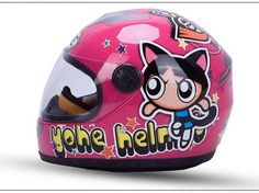 YOHE children's Motorcycle electric bicycle helmet ABS Child cartoon helmets boy girl universal YH-959S princess design