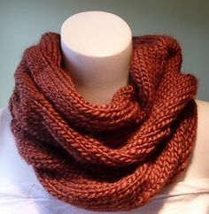 pattern: burberry inspired cowl.