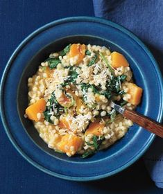 Baked Barley Risotto With Butternut Squash -- made this with hulled barley (rather than pearled) and it was so overwhelmingly delicious!