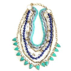gypsy multi long fringe chunky tassel body layered gold chain string necklace