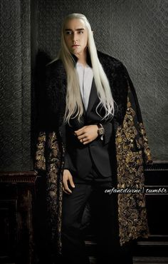 Thranduil goes GQ