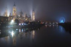 Fog in Zaragoza by Miguel Moreno Dobato on 500px