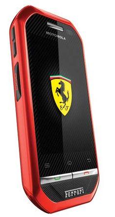 Motorola i867 Ferrari Special Edition, un modelo totalmente inspirado en sus autos.