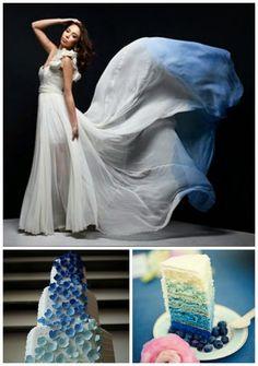 Ombre wedding...