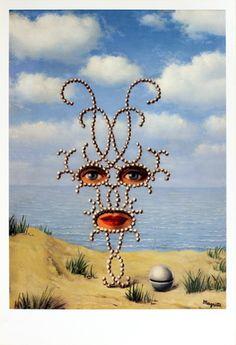Magritte Rene    Sheherazade