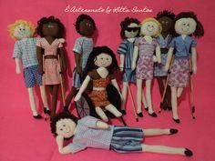 Bonecos Inclusão Social by Litta Santos  Visite: o blog http://littasantos.blogspot.com.br a fanpage: https://www.facebook.com/e.artesanato.by.litta.santos