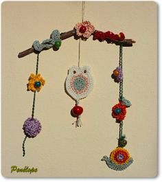 Darghamyo designs: Móvil para cuarto infantil