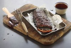 Maple & Cider Ribs Baked Ribs, Cracked Pepper, Pork Ribs, Recipe Collection, Tray Bakes, Pork Recipes, Nutrition, Yummy Food, Stuffed Peppers
