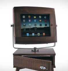 V-Luxe Vintage iPad Stand cool pero nada portable heheh
