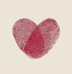 Heart print . Want this but with my mom and dads finger print.