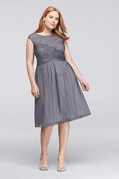 plus size glitter lace sheath mother of bride/groom dress with
