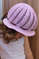 NÁVODY HÁČKOVÁNÍ Girl With Hat, Baseball Hats, Winter Hats, Crochet Hats, Girls Hats, Crocheting, Google, Fashion, Knitting Hats