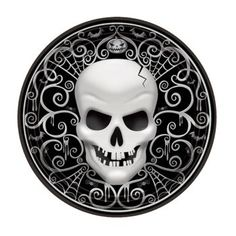 "Fright Night Plates- 7""-18 Pack 