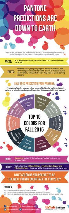 Infographic: PANTONE Predictions For Fall 2015 - DesignTAXI.com