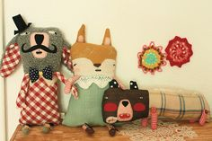 quirky plushies by ninon