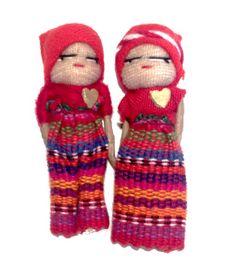 Les quitapenas ou poupées tracas | Muñeca de Rossy