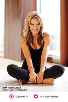 lifestyle - relaxed/ Lorna Jane Clarkson Founder of Lorna Jane and the Lorna Jane Philosophy of Move Nourish Believe..... Cheers... #Big Al Connolly