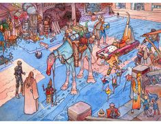 Star Wars : Visions (Episode I by Moebius)