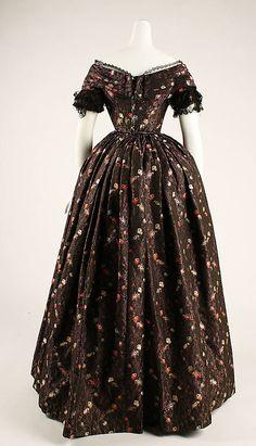 Dress  Date: 1839–41 Culture: American or European