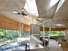 The house in Japan by Double Negatives Architecture was built from concrete and chipboard components. Interior Design Salary, Best Home Interior Design, Interior Design Companies, Interior Design Living Room, Architect House, Architect Design, Japanese Interior, Decorating On A Budget, House Painting