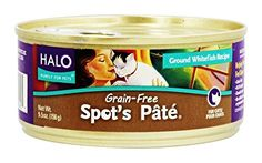 Halo Spots Pate for Cats GrainFree Ground Whitefish 55oz12 Cans >>> Continue to the product at the image link.