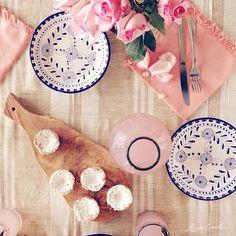 lemon tartes + The Little Market tableware